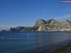 Крым, Судак, море