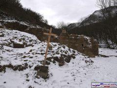 Храм зимой, Судак гора Килиса-Кая