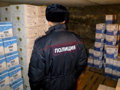 Полицейские изъяли алкогольный фальсификат