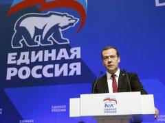 Медведев Дмитрий Анатольевич, Единая Россия
