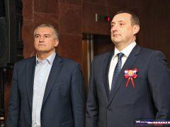 Сергей Аксёнов и Владимир Серов