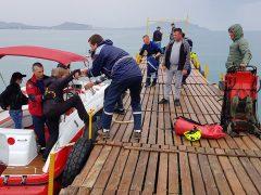 спасательная операция в море