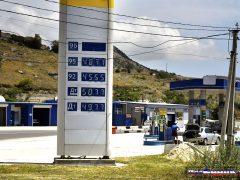 цены на бензин в Крыму сегодня