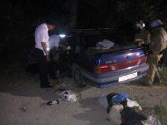 авария в Судаке, ВАЗ-2115