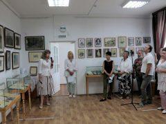 открытие выставки в Судаке
