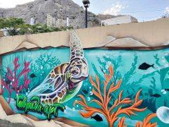 граффити Судак